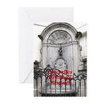 Brussels Greeting Cards (Pk of 10)