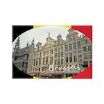 Brussels Rectangle Magnet (100 pack)