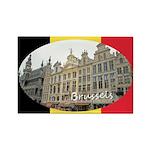 Brussels Rectangle Magnet (10 pack)