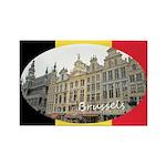 Brussels Rectangle Magnet
