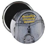 """Brussels 2.25"""" Magnet (10 pack)"""