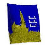 Brussels Burlap Throw Pillow