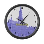 Brussels Large Wall Clock
