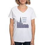 Brussels Women's V-Neck T-Shirt