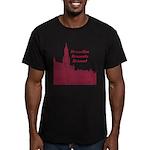 Brussels Men's Fitted T-Shirt (dark)
