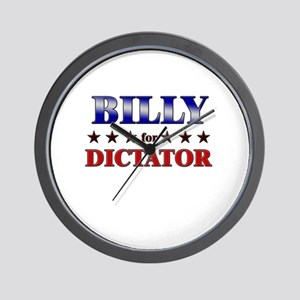BILLY for dictator Wall Clock