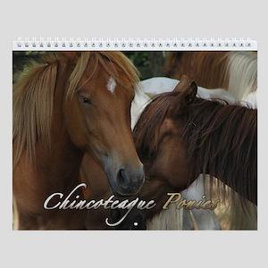 Chincoteague Ponies Calendar Wall Calendar