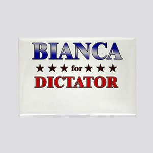 BIANCA for dictator Rectangle Magnet
