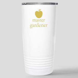 Cute Yellow Apple Master Gardener Travel Mug