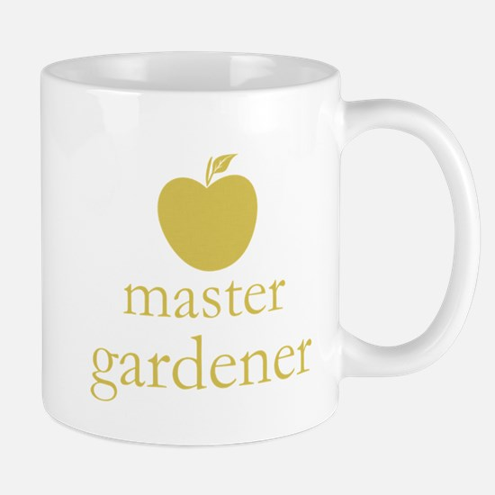 Cute Yellow Apple Master Gardener Mugs