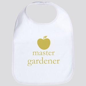 Cute Yellow Apple Master Gardener Bib