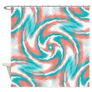 Coral Shower Curtains - CafePress