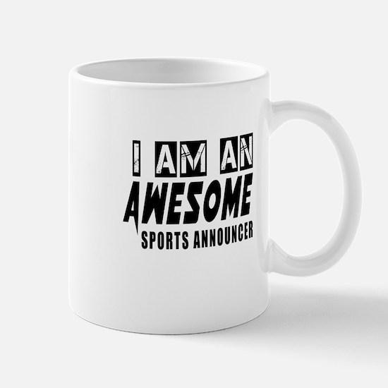 I Am Sports announcer Mug