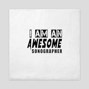 I Am Sonographer Queen Duvet