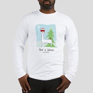 Larry Not a Llama Christmas Long Sleeve T-Shirt