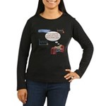 Numbered Course Women's Long Sleeve Dark T-Shirt