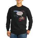 Numbered Course Long Sleeve Dark T-Shirt