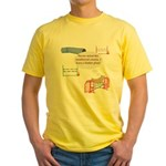 Numbered Course Yellow T-Shirt