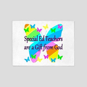 TEACHER PRAYER 5'x7'Area Rug