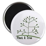 "Plant A Tree 2.25"" Magnet (10 pack)"