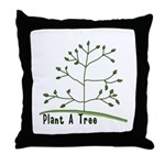 Plant A Tree Throw Pillow