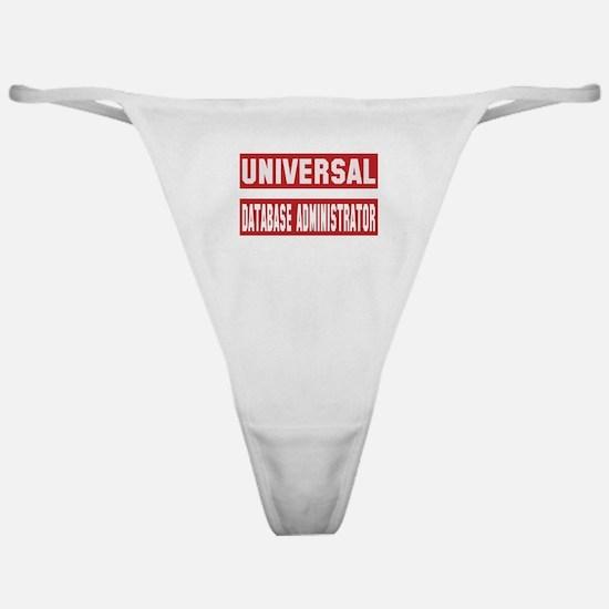 Universal Database administrator Classic Thong