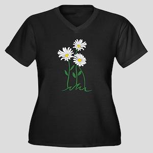 Daisy Plus Size T-Shirt