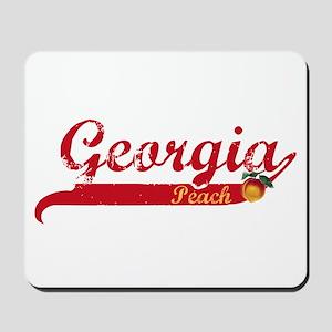 Georgia Peach - Red Mousepad