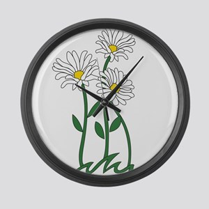Daisy Large Wall Clock