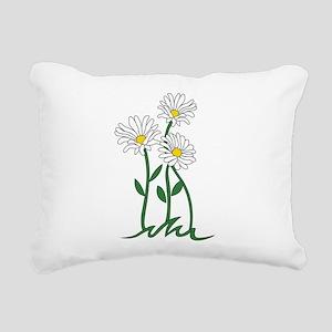 Daisy Rectangular Canvas Pillow