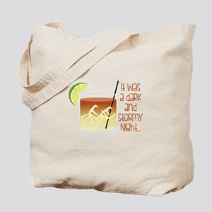 Dark Stormy Night Tote Bag