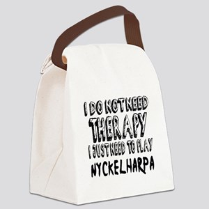 I Just Need To Play Nyckelharpa Canvas Lunch Bag