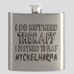 I Just Need To Play Nyckelharpa Flask
