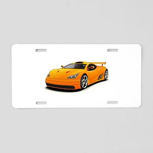 super car Aluminum License Plate