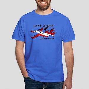 Lake Dive Ouachita, AR Dark T-Shirt