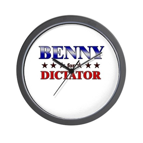 BENNY for dictator Wall Clock