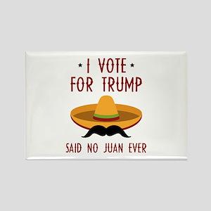 Trump Juan Rectangle Magnet