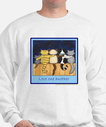 Love One Another - Cats / Kit Sweatshirt