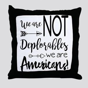 Deplorable - Basket of Deplorables Throw Pillow