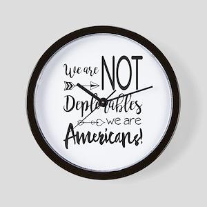 Deplorable - Basket of Deplorables Wall Clock