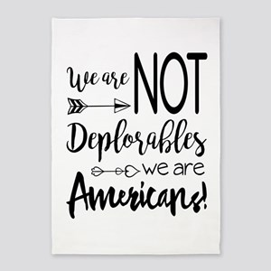 Deplorable - Basket of Deplorables 5'x7'Area Rug