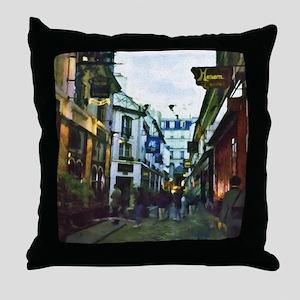 Boulevard St. Germain Throw Pillow