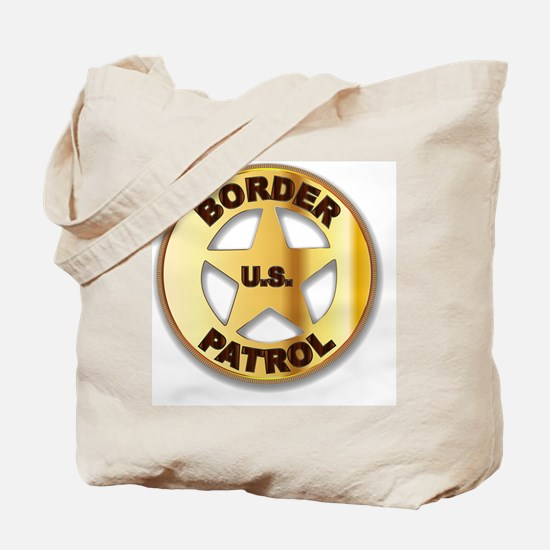 Funny Us border patrol Tote Bag