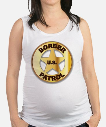 Funny Law and order Maternity Tank Top
