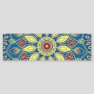 Mandala Flower Bumper Sticker