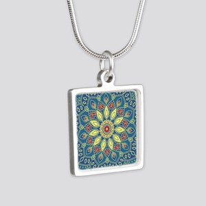 Mandala Flower Necklaces
