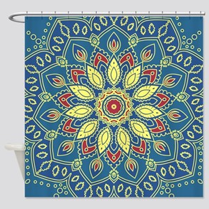 Mandala Flower Shower Curtain