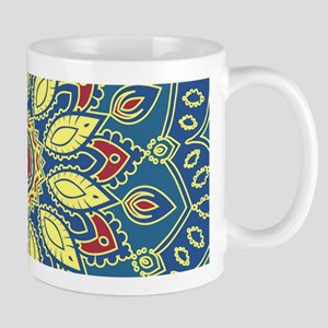 Mandala Flower Mugs