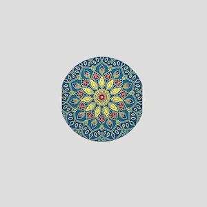 Mandala Flower Mini Button