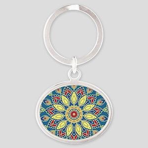 Mandala Flower Keychains